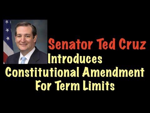 Senator Ted Cruz Introduces Constitutional Amendment For Term Limits