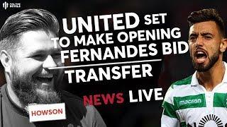 MAN UTD Transfers: Howson: United's Fernandes Bid!