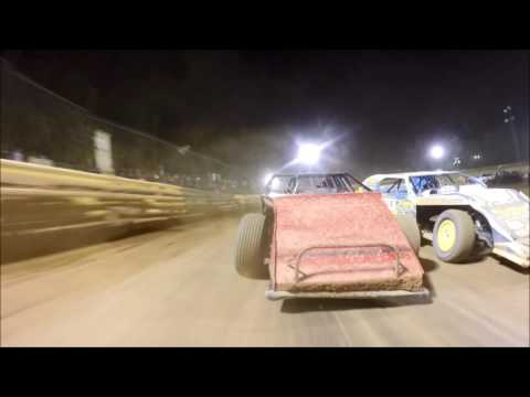 Tyler County Speedway Modified Feature 7-8-2016 Jacob Hawkins GoPro