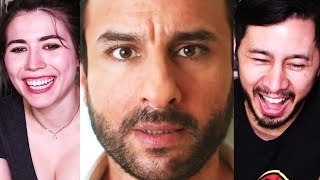 KAALAKAANDI | Saif Ali Khan | Trailer Reaction w/ Sesh!