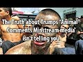 The Truth about Trumps Animal Comments Mainstream media isn't telling you