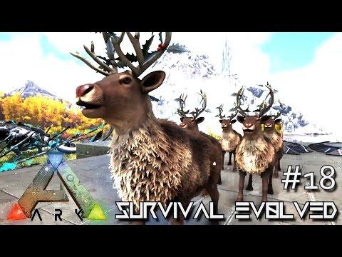 ARK: SURVIVAL EVOLVED - HAPPY HOLIDAYS NEW DINO UPDATES !!! E18 (MODDED ARK MYSTIC ACADEMY)