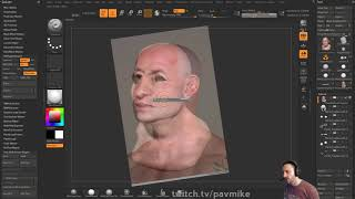 062 ZBrush Spotlight PolyPainting Skin From Photos