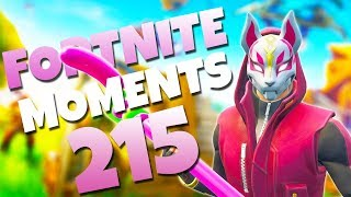 THE LUCKIEST RIFT JUMP EVER!! (AMAZING GOLF TRICKSHOT!) | Fortnite Funny Moments 215