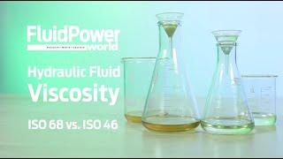What is hydraulic fluid viscosity?