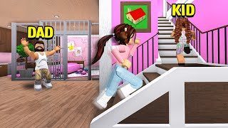 Kid Went MISSING.. Evil DAD Trapped Her! (Roblox Bloxburg)
