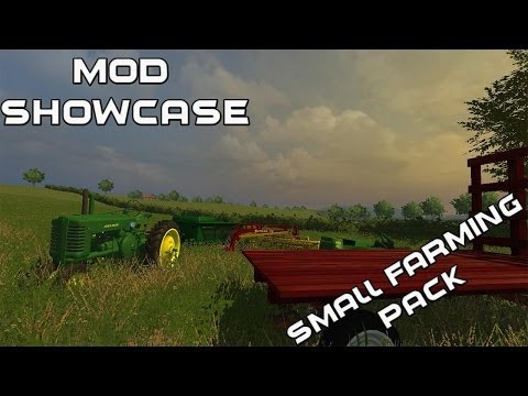 Farming Simulator 2013 Mod Showcase- Small Farming Pack