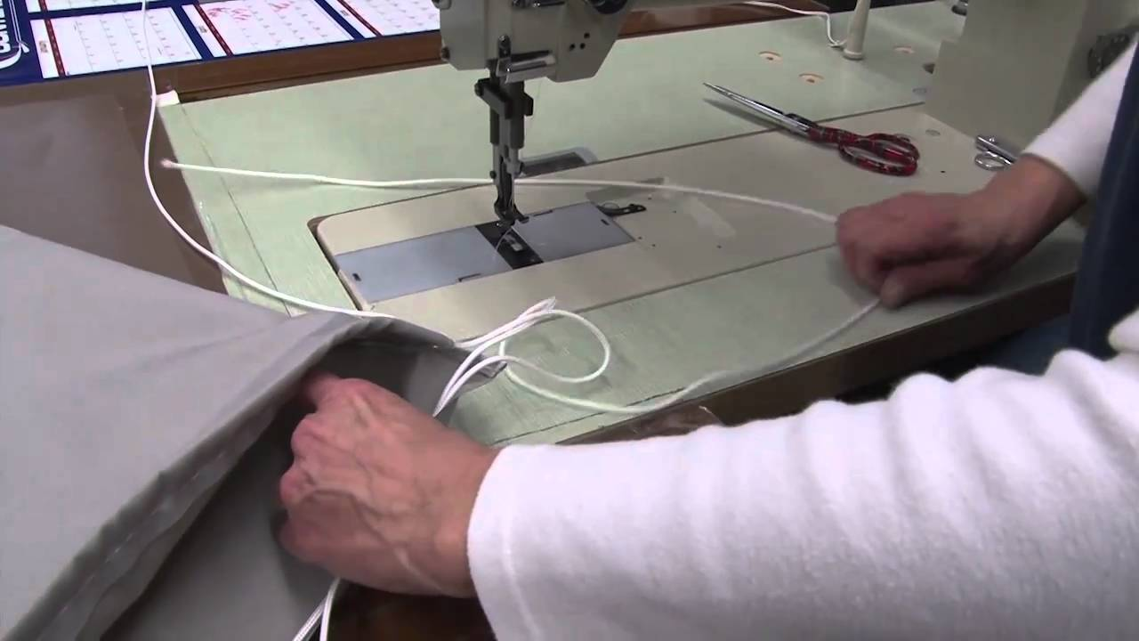 How to Make a Drawstring Backpack - YouTube