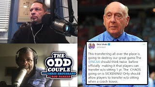 Dick Vitale Says NCAA Transfer Portal is Chaotic and Sickening | THE ODD COUPLE