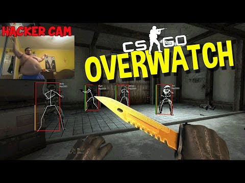 CS:GO BUNNY HOP HACKER FOOTAGE (OVERWATCH FUNNY MOMENTS)