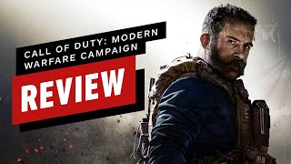 Call of Duty: Modern Warfare Single-Player Campaign Review (Video Game Video Review)