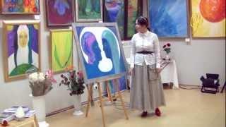 В. ПреобРАженская. Картина «Белое Солнце Ориона»