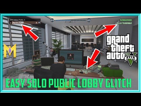 GTA 5 Online Glitches - EASY SOLO Public...