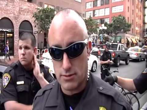 SDPD Detains Cameraman JC Playford
