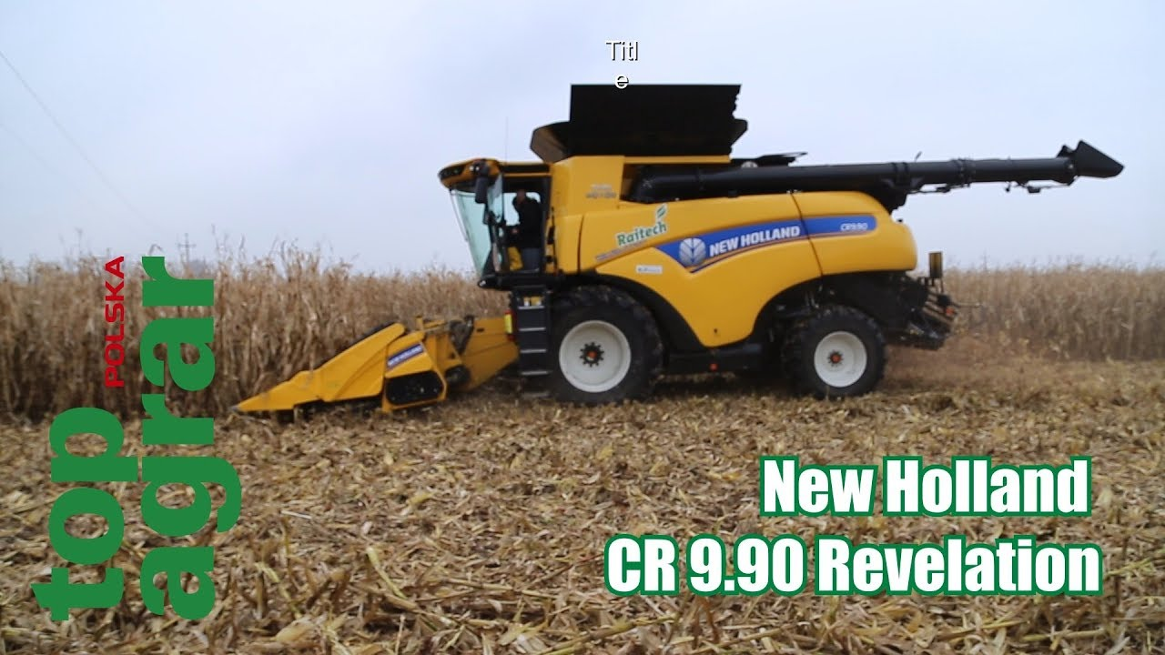 Nowy New Holland CR 9.90 Revelation – zbiór kukurydzy