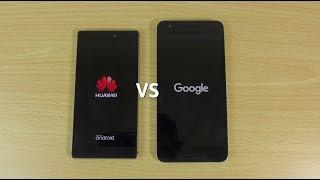 Nexus 6P VS Huawei P8 - Speed Test