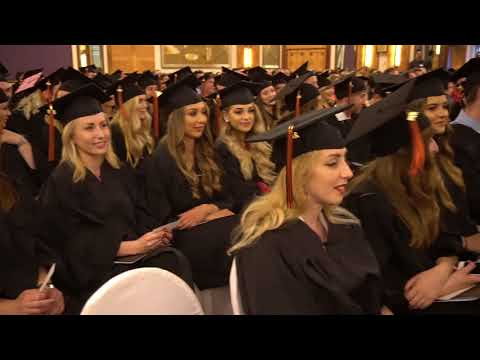 Commencement Ceremony in Zagreb 2018