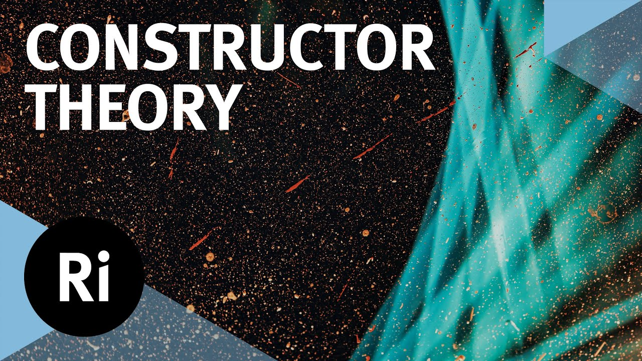 Download Constructor Theory: A New Explanation of Fundamental Physics - Chiara Marletto and Marcus du Sautoy