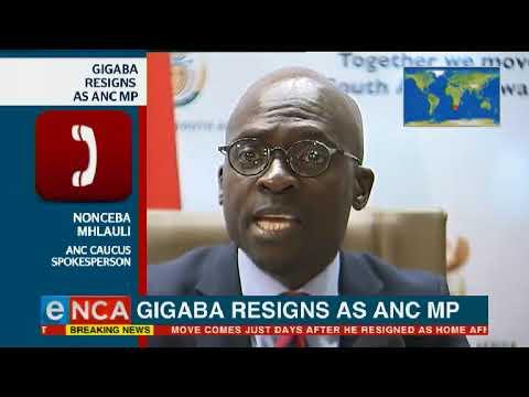 Malusi Gigaba resigns as an ANC MP