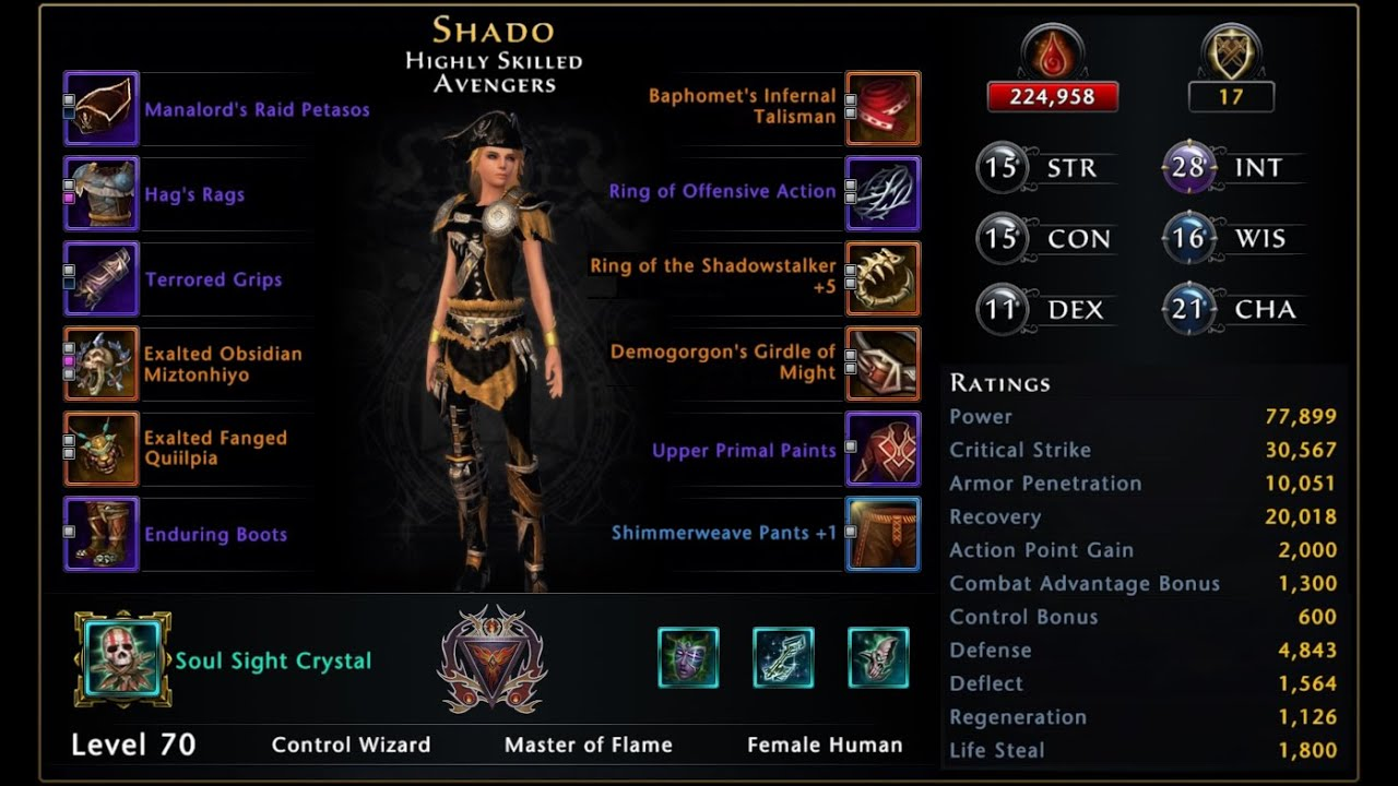 Shado's Control Wizard Mod 15 PvE Guide | MMOMinds