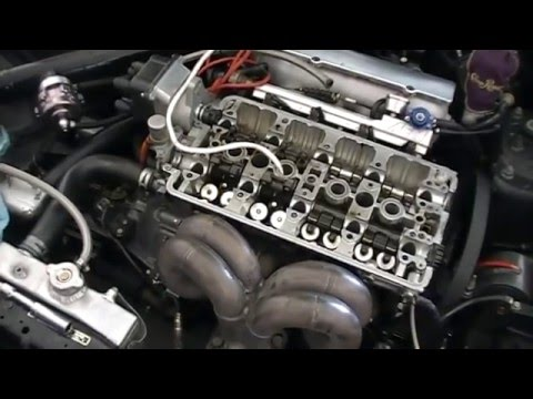 Replace Valve Stem Seals With Cylinder Head On Youtube