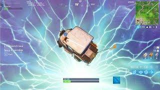 What Happens When You Drive a Cart Through A Rift!? Fortnite Season 5 - Daryus P