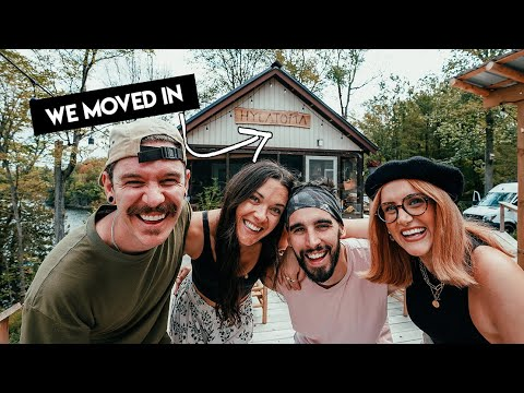 Download We swapped VAN LIFE for CABIN LIFE w/ Eamon and Bec