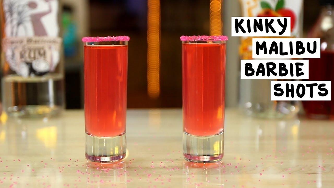 Kinky Malibu Barbie Shots Tipsy Bartender