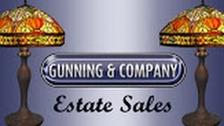 GUNNING AND COMPANY ESTATE SALES, LLC AUDUBON PA ESTATE SALE