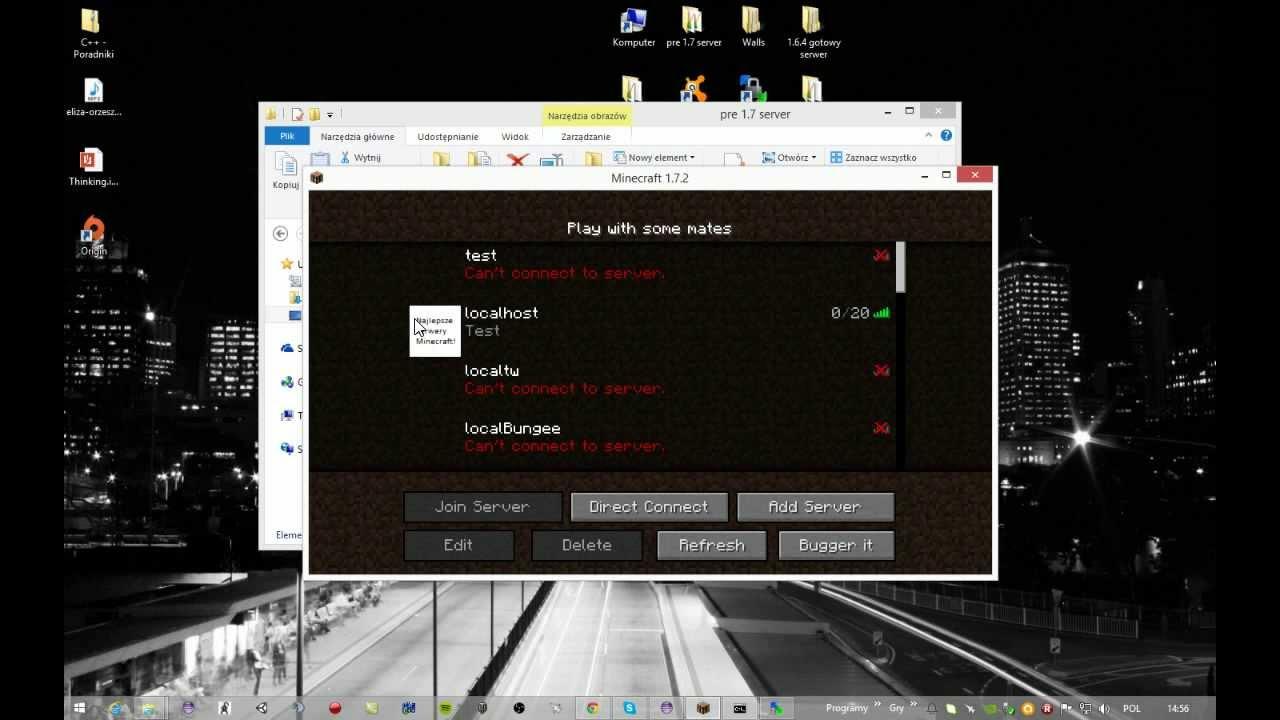 pliki serwerowe minecraft 1.7.10