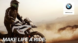 BMW F 750 GS: Chasing excitement.