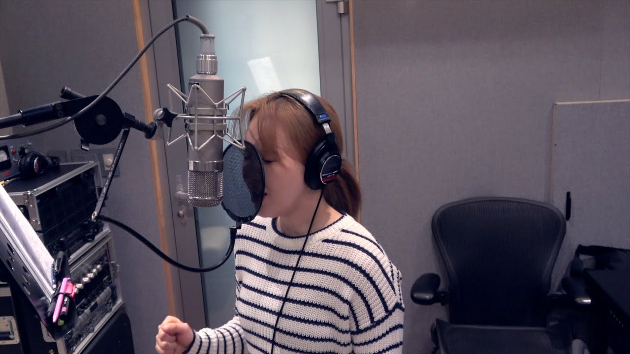 WENDY 웬디 'When This Rain Stops' & 'Like Water' Recording Behind