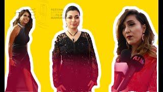 مهرجان السينما بمراكش.. المشاهير المغاربة يواصلون التألق على السجادة الحمراء