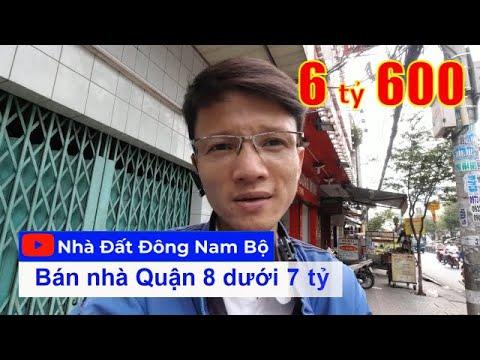 Video nhà bán Quận 8 gần Quận 5. Nhà 2 lầu sân thượng 4PN, cách Mặt tiền đường Tùng Thiện Vương 20m