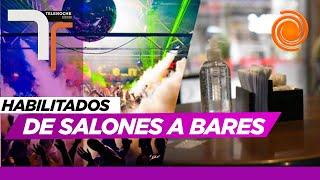 Salones de fiestas y boliches de la ciudad de Córdoba podrán abrir como bares y restaurantes