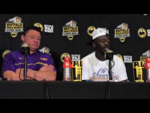 LSU Citrus Bowl Post Game