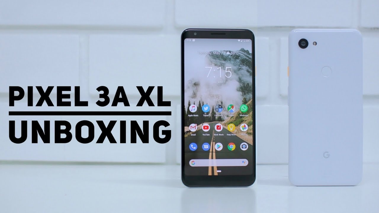 Google Pixel 3a XL Unboxing A Camera Phone but MidRanger?