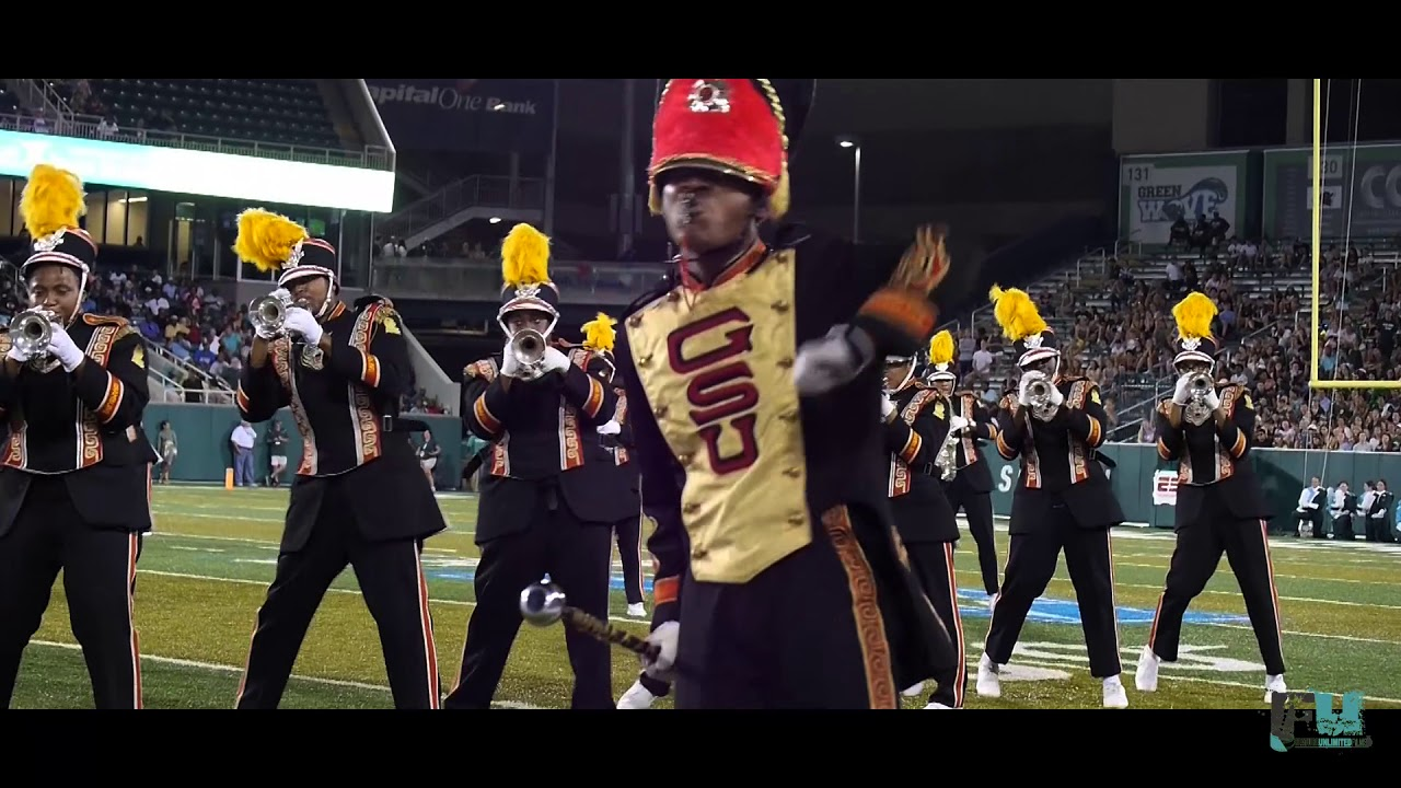 new product aa6cf 6fbcd 2017 Grambling State World Tiger Marching Band at Tulane University