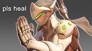 When Genji Doesn't Get Healed