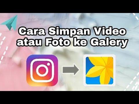 Cara Simpan Video atau Foto dari Instagram ke Galeri Tanpa Aplikasi | #TutorReceh