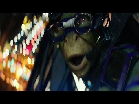 Teenage Mutant Ninja Turtles 2 Opening Scene