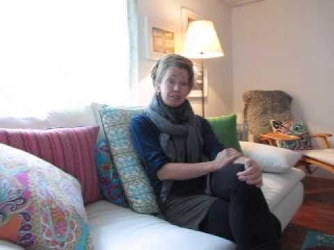 Josefin and the Mumbai slum yoga project