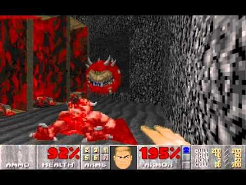 Ultimate Doom (100%) Walkthrough (E3M2: Slough of Despair) |