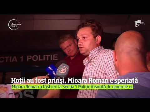 Poliţia i-a reţinut pe cei care ar fi furat din casa Mioarei Roman