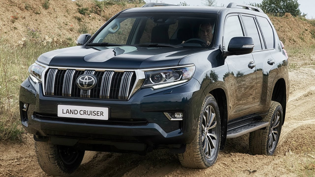 2018 toyota land cruiser  unrivalled offroad performance