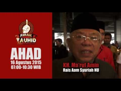 #ParadeTauhidIndonesia | KH MARUF AMIN & PROF NAHAR - YouTube
