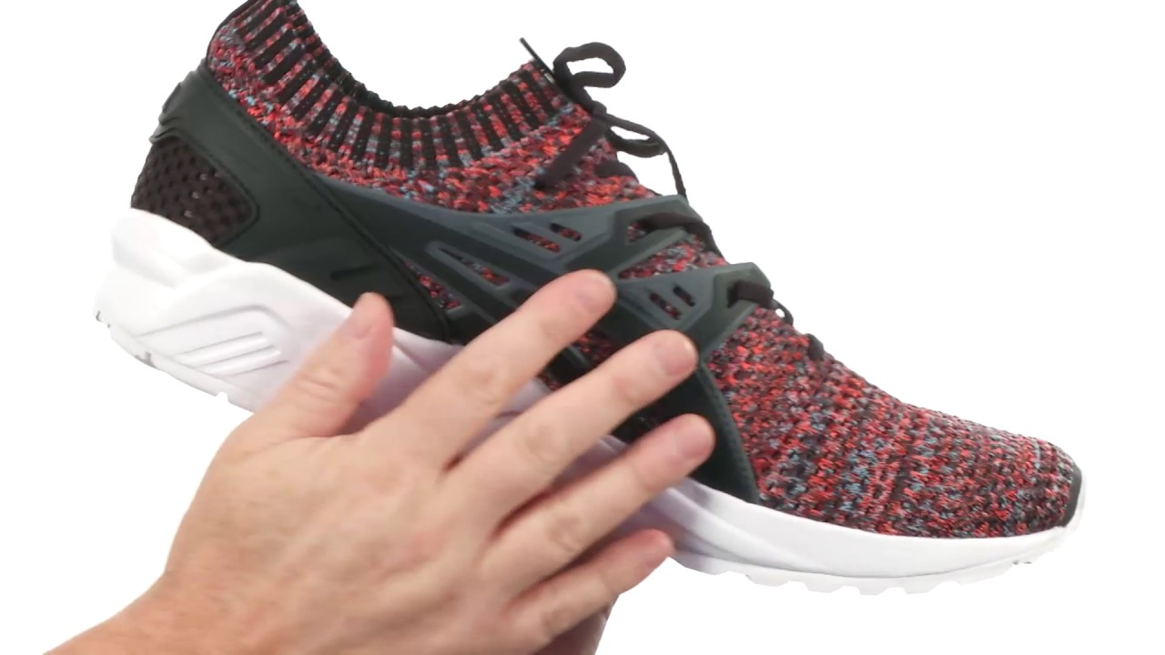 c8e122b59d ASICS Tiger Gel-Kayano Trainer Knit SKU 8878591 - YouTube