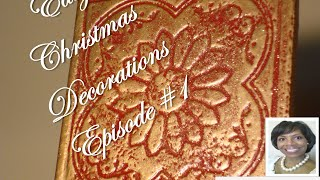 Diy - Easy Christmas Decor -  #1