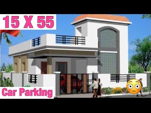 15-x-55-,-modern-house-design-,-घर-का-नक़्शा-,-car-parking-lawn-garden-map-,-वस्तु-अनुसार-नक़्शा