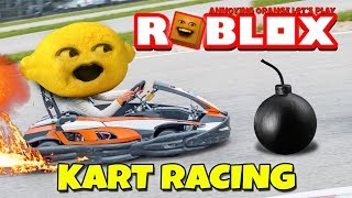 Grandpa Lemon Plays - Roblox: Kart Racing (The Plaza)